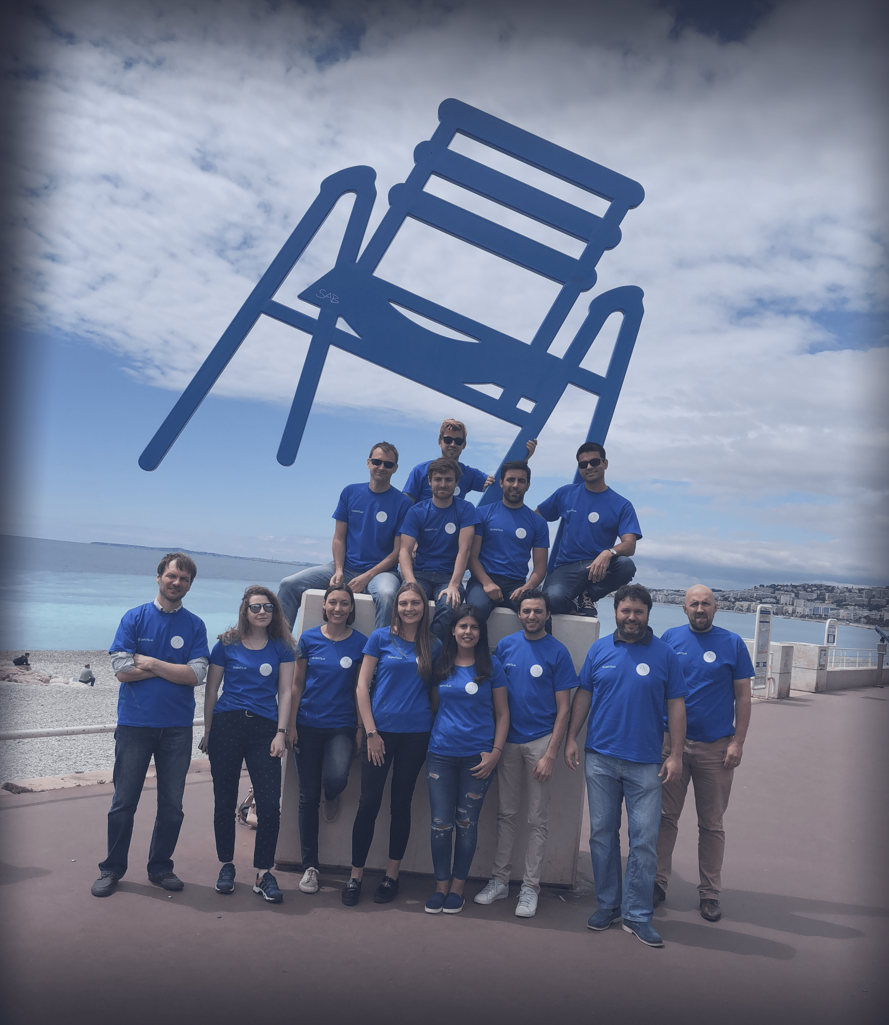 Team building afternoon in la Promenade des Anglais – Nice